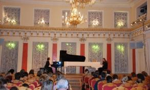 Концертное выступление на открытии конкурса 2010г.